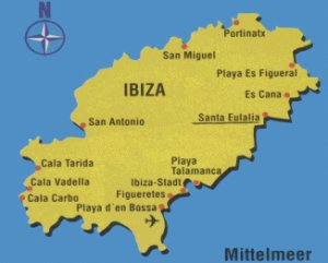 Ibiza Karte Playa D En Bossa.Familie Dr Lührmann